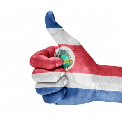 Costa RIca Thumbs Up