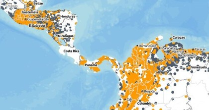 Costa Rica is a gap in Kindle 3G Coverage