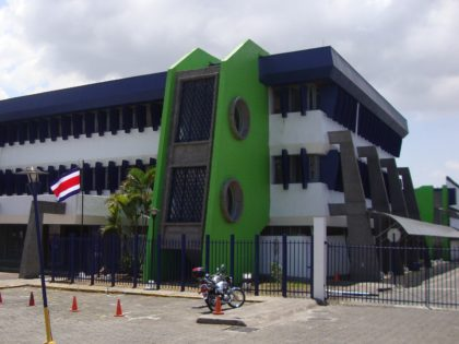 Post Office in Zapote has onsite customs office