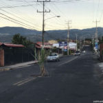 Poás residents use road holes to plant sugar cane and bananas