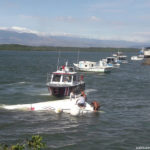 Firefighters rescue 12 people from shipwreck in Puntarenas