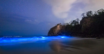 This incredible photograph of a beach from Guanacaste went viral!