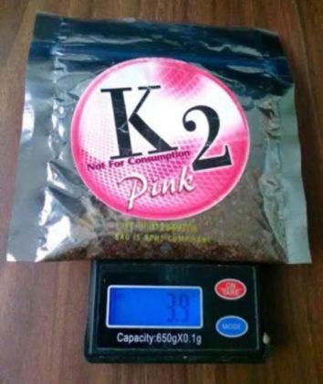 "k2: the ""zombie"" drug"