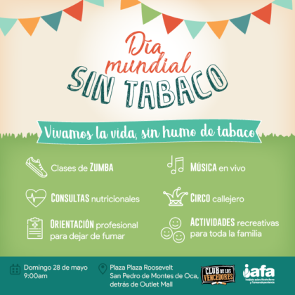 Health fair to celebrate another year without tobacco for Cuarto dia sin fumar