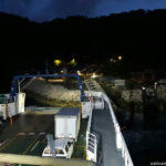 Ferry hit the ramp in Paquera last night