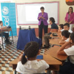 Students participate in lesson to become agents of change