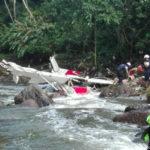 This is how plane crash survivors were rescued in Pavas