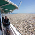 Alert against plastic sea off Honduran coast