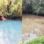 SINAC requests urgent inspection after changes of color in Celeste River
