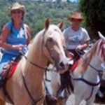 Linda Gray on the Horse Farm in Costa Rica